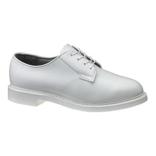 E07131 Womens Bates Lites White Leather Oxford-