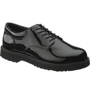 Mens High Gloss Duty Oxford-Bates Footwear