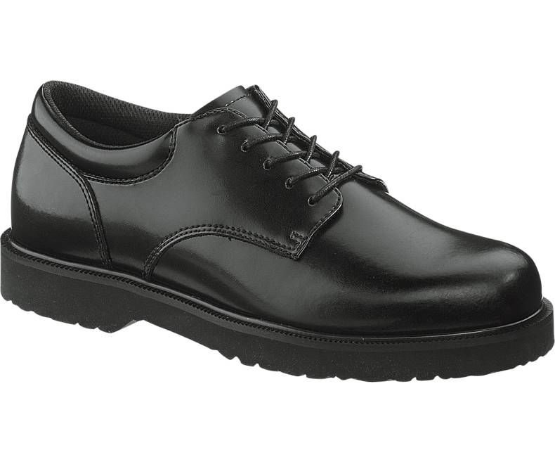 Mens High Shine Duty Oxford-Bates Footwear
