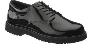 Womens High Gloss Duty Oxford-Bates Footwear