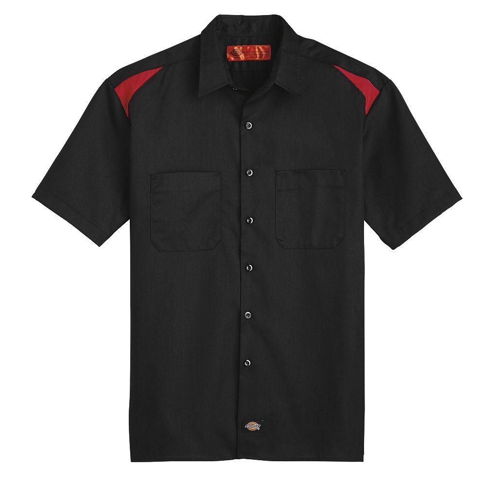 Shirt-SS Banded Collar