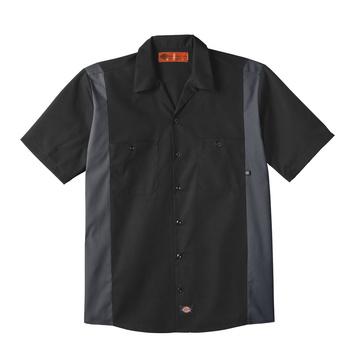 Dickies Industrial Color Block Short Sleeve Shirt -24BK-
