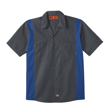 Dickies Industrial Color Block Short Sleeve Shirt-