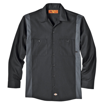 Dickies Industrial Color Block Long Sleeve Shirt -5524-