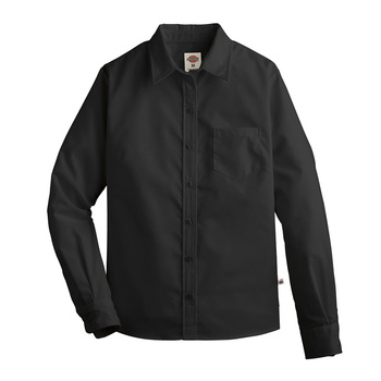 Dickies Womens Long Sleeve Stretch Poplin Shirt -L136-Dickies®