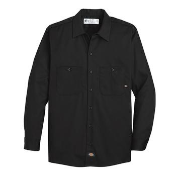Mens Industrial Cotton Long-Sleeve Work Shirt-Dickies®