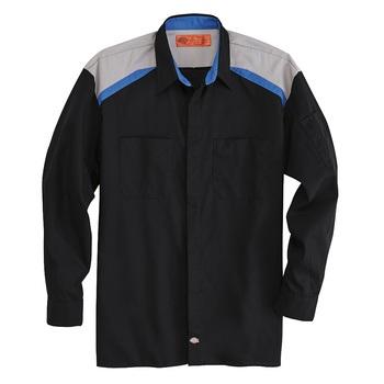 Dickies Tricolor Long Sleeve Shop Shirt -L607