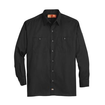 Mens Solid Ripstop Long-Sleeve Shirt-