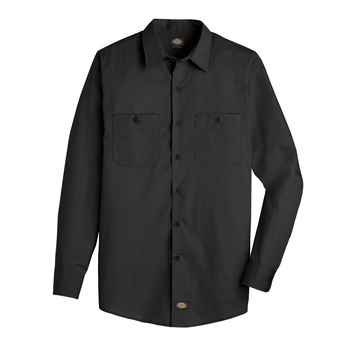 Dickies WorkTech Ventilated Long Sleeve Shirt with Cooling Mesh -LL51-