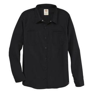 Womens Long-Sleeve Industrial Work Shirt-Dickies®