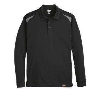 Mens Team Performance Long-Sleeve Polo-Dickies®