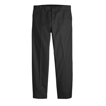 Mens Industrial Flat Front Comfort Waist Pant-