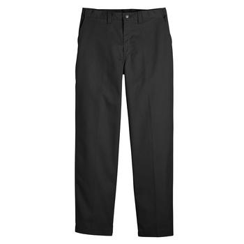 Mens Premium Industrial Flat Front Comfort Waist Pant-