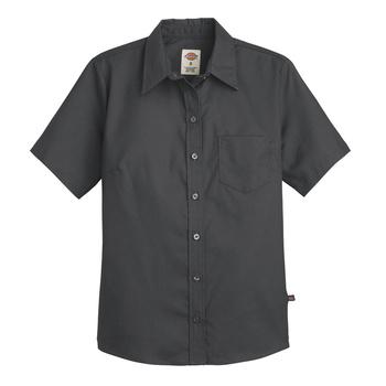 Dickies Womens Short Sleeve Stretch Poplin Shirt -S136-
