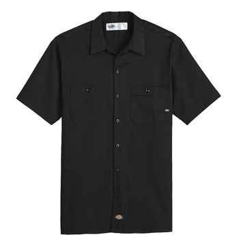 Mens Industrial Cotton Short-Sleeve Work Shirt-Dickies®