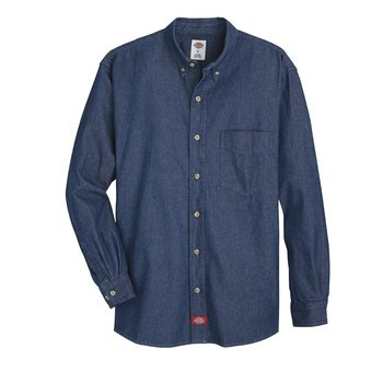 Dickies Denim Long Sleeve Work Shirt -WL30-Dickies®