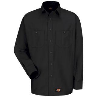 Mens Canvas Long-Sleeve Work Shirt-
