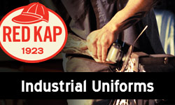 red cap industrial unifroms