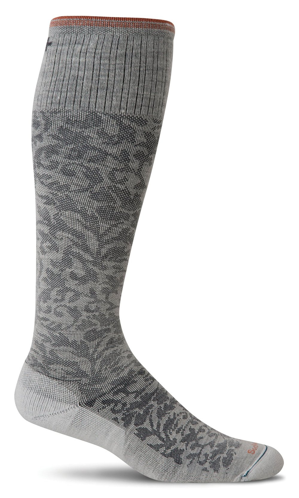 Women's Damask | Graduated Compression Socks-Sockwell