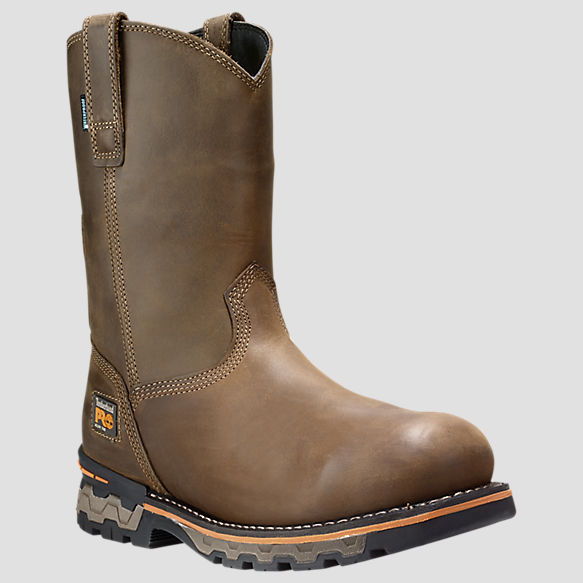 AG Boss Alloy Toe Pull-On Work Boots 1053A214 Men's Timberland PRO®