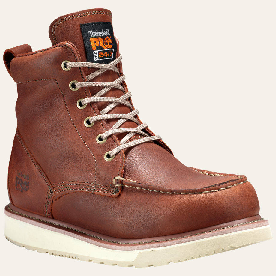 """6"""" SOFT TOE WEDGE BOOTS MEN'S TIMBERLAND PRO® 53009214"""