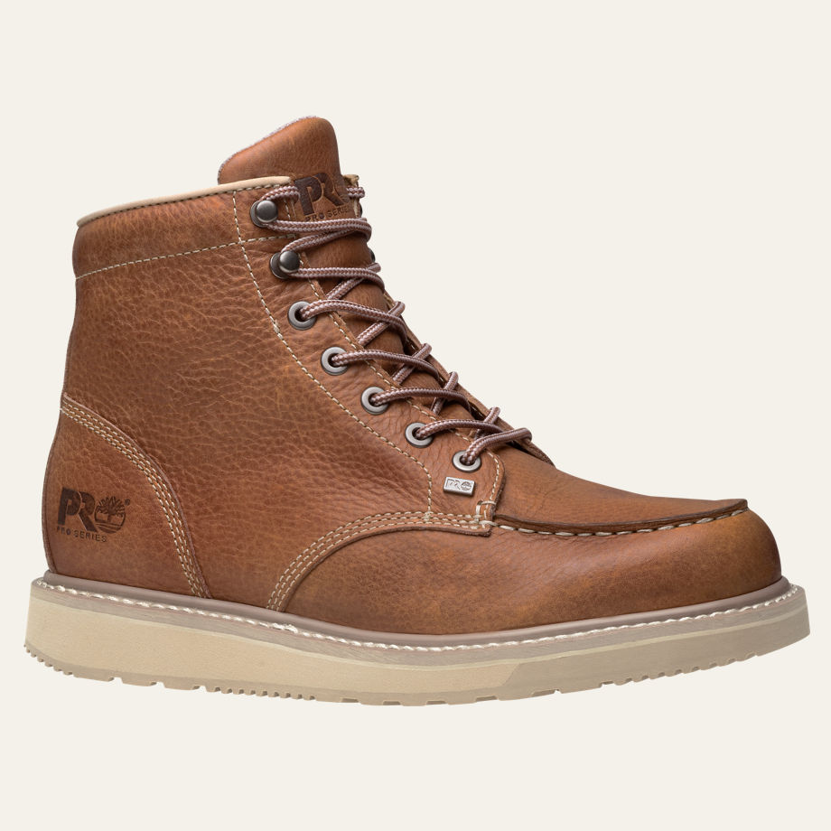 BARSTOW WEDGE MOC SOFT TOE WORK BOOTS MEN'S TIMBERLAND PRO® 89647214