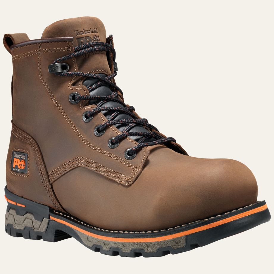 AG BOSS ALLOY TOE UNLINED WORK BOOTS Mens Timberland Pro A16M3214