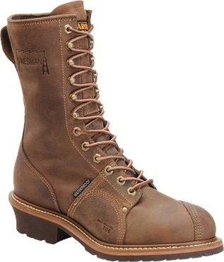 """Men's 10"""" Waterproof Composite Toe Linesman - CA1904"""