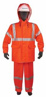 Sentinel Flame Resistant Waist Length Rain Jacket