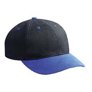 BRUSHED BULL DENIM LOW PROFILE STYLE CAPS