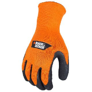 Black & Decker Bd540 Latex Gripper Glove-Radians