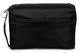 Black nylon equipment carrying case-Prism Medical Apparel
