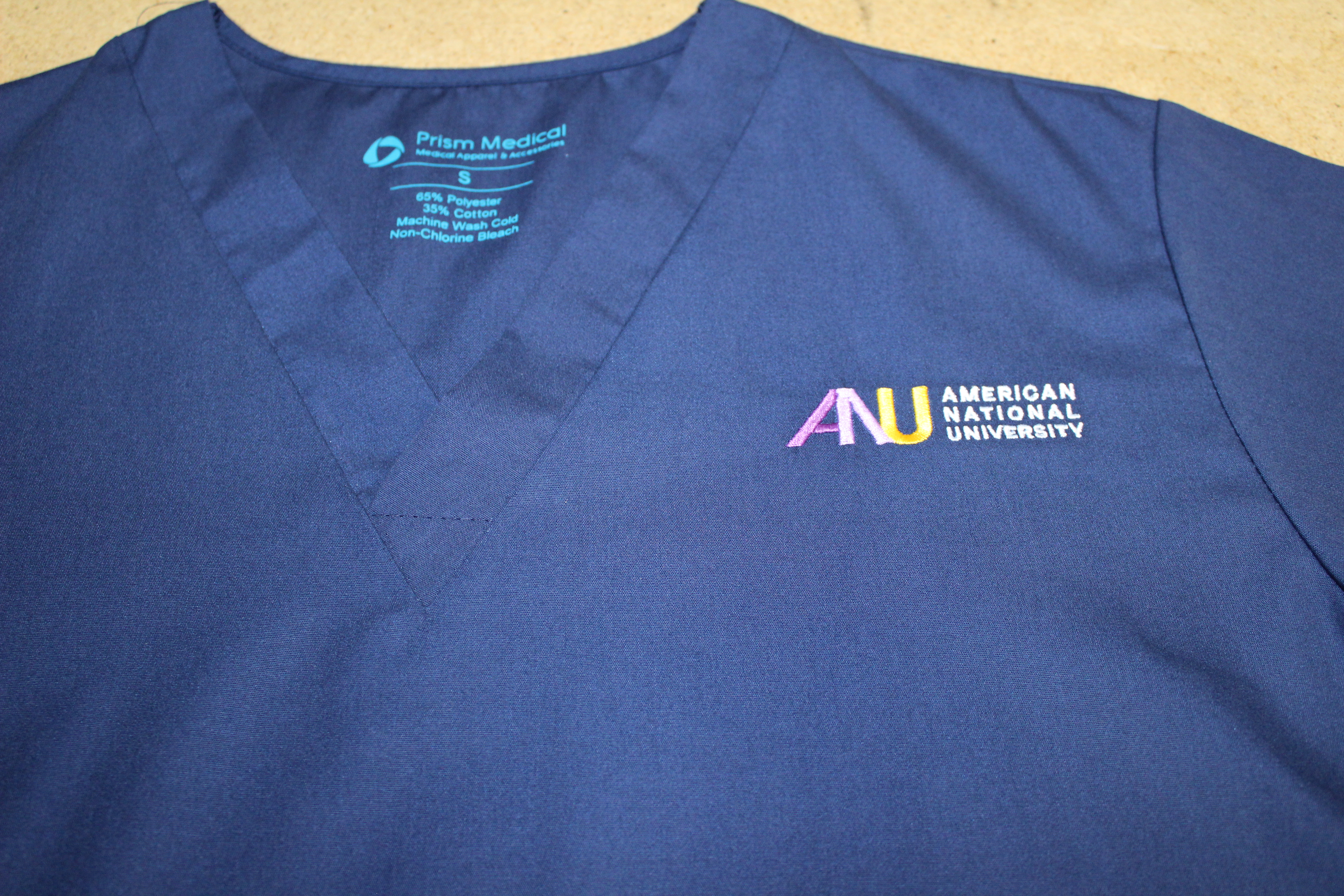 Embroidery-Prism Medical Apparel