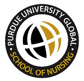 Purdue University Global - Nursing Embroidery Patch-Prism Medical Apparel