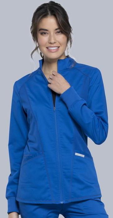 Women's Cherokee Zip Front Jacket-Cherokee