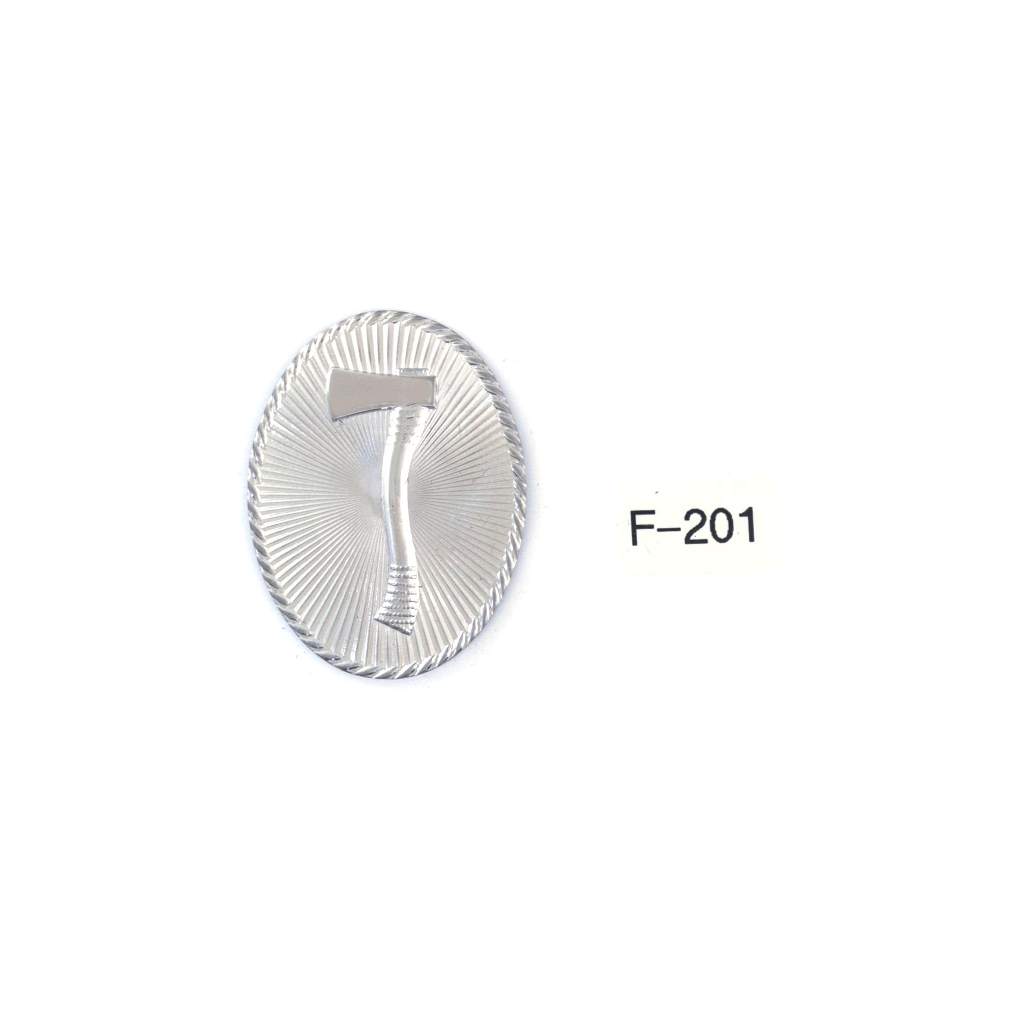 F201 (1 upright ax oval)-CW Nielsen