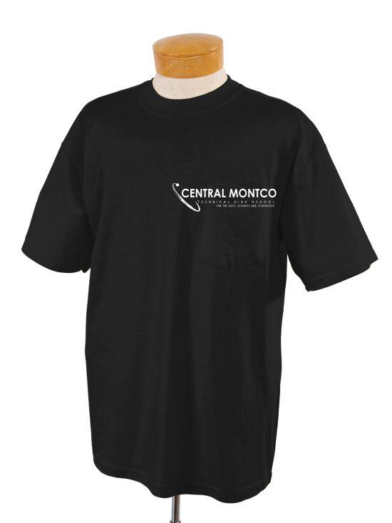 Adult 5.6 Oz. Dri-Power® Active Pocket T-Shirt-Jerzees
