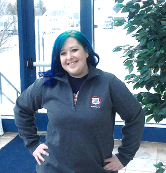 Sport-Tek® Ladies 1/4-Zip Sweatshirt.-Sport-Tek