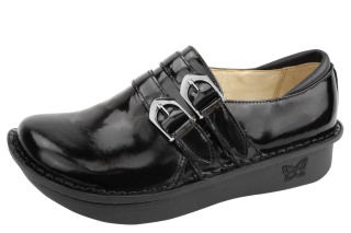 Alli Black Waxy Shoe