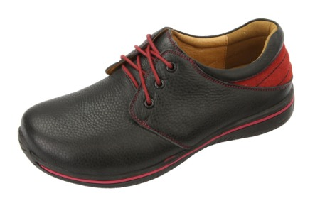 Alegria Men Alex Black Tumbled/Red-Alegria