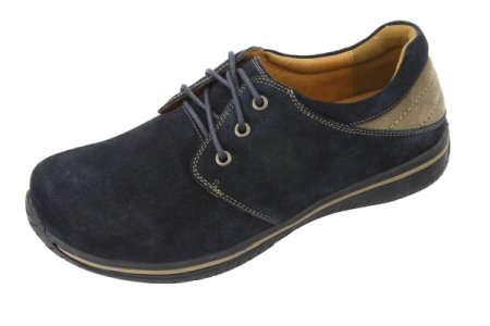 Alegria Men Alex Navy Suede/Sand
