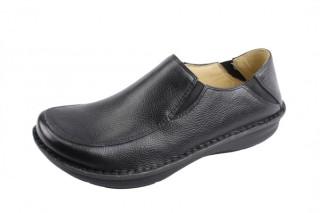 Schuster Alegria Men Schuster Black Tumbled Leather-