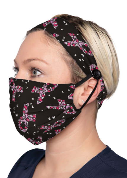 Fashion Mask + Headband Set-koi Med Accessories