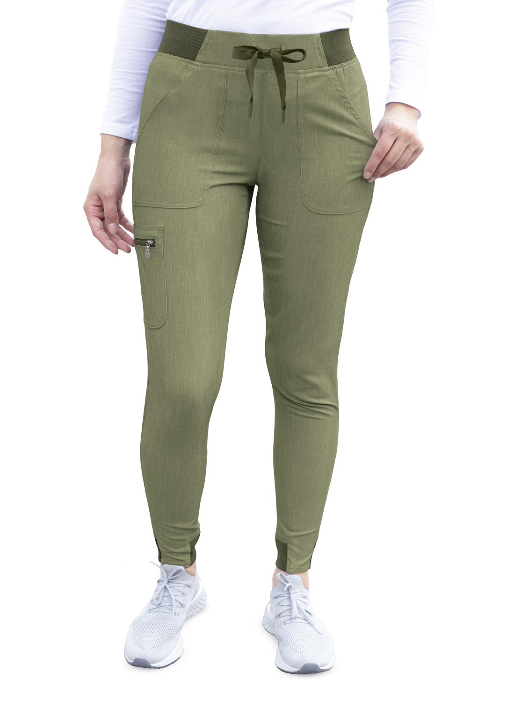 ADAR Pro Womens Ultimate Yoga Jogger Pant-Adar Medical Uniforms
