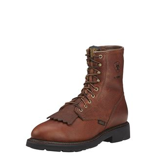 Cascade 8 Inch Waterproof Work Boot-Ariat