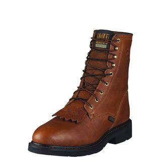 10002435 Cascade 8 Inch Steel Toe Work Boot-Ariat