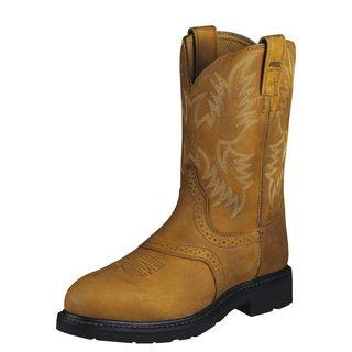 10002437 Sierra Saddle Steel Toe Work Boot-Ariat