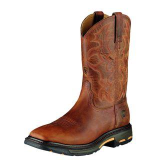 WorkHog Wide Square Toe Steel Toe Work Boot-