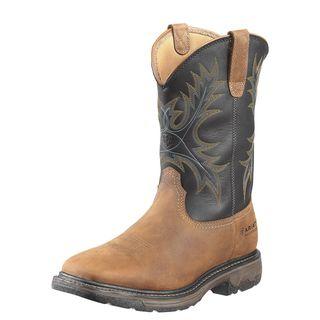 WorkHog Wide Square Toe Waterproof Work Boot-