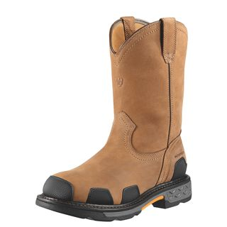 10010901 OverDrive Pull-On Waterproof Composite Toe Work Boot-Ariat